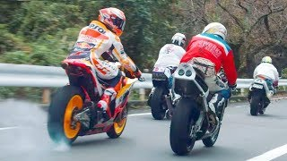 WOW!!! MARC MARQUEZ STREET RACING  ! Pure Adrenaline Rush !!!