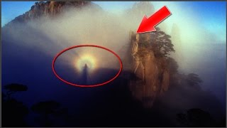 """Kỳ lạ """"Phật quang"""" xuất hiện trên đỉnh núi Trung Quốc"""