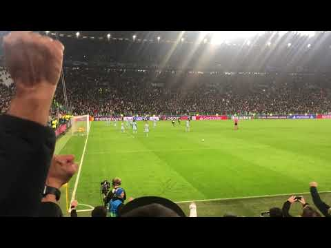 Juventus - Atlético Madrid 1-0 26/11/2019 Punizione Dybala