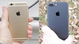 iPhone 6 vs iPhone 7 Plus -
