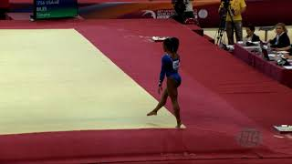 BILES Simone (USA) - 2018 Artistic Worlds, Doha (QAT) - Qualifications Floor Exercise