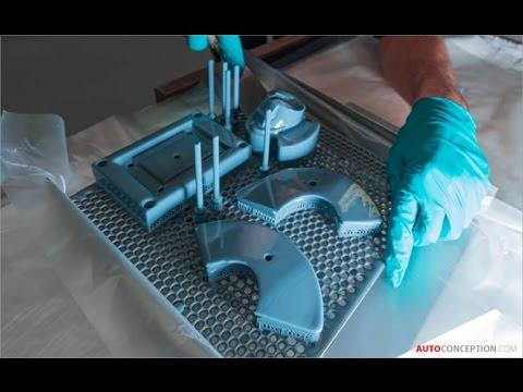 Car Design: 3D Printing at BMW