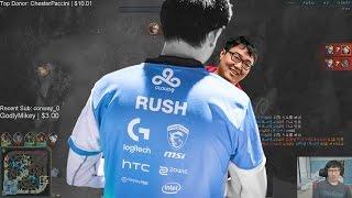 Rush stream Funny moments Ft XiaoWeiXiao