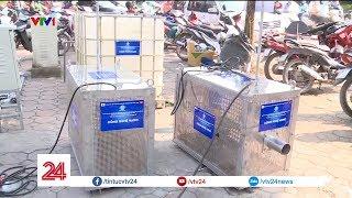 Khởi động dự án thí điểm làm sạch 1 đoạn sông Tô Lịch | VTV24