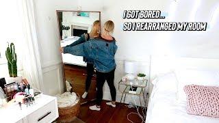 i got bored...so i rearranged my room!!