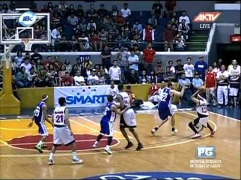 """GINEBRA VS PETRON - HELTERBRAND""""S NEVER SAY DIE CLUTCH SHOTS IN THE"""