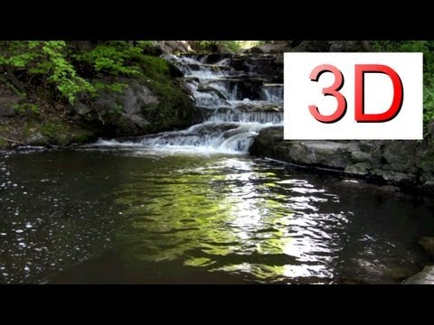 3D Video: Waterfall Relaxation #6