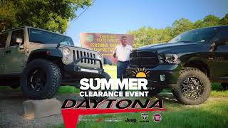 ***THE SUMMER CLEARANCE STARTS NOW!***