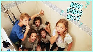 WE PLAY SARDINES IN OUR NEW HOUSE!!