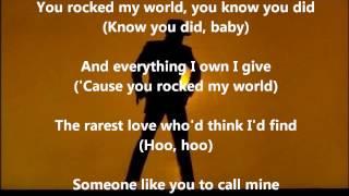 Michael Jackson - You Rock My World ~ With Lyrics