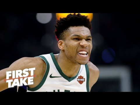 Stephen A. has 'lost faith' in Giannis and the Bucks' chances vs. the Raptors | First Take