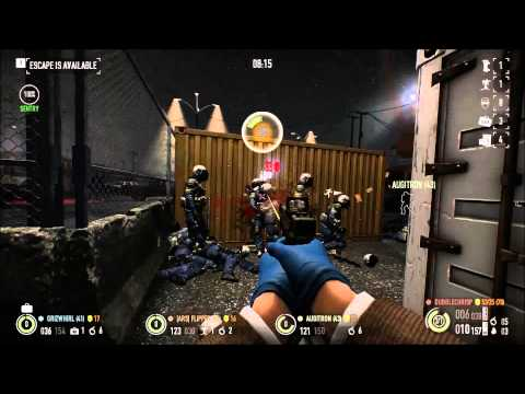 Spawn-camping the cops on Watchdogs - PAYDAY 2