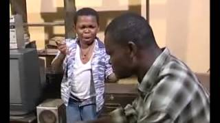 Funny African kid.