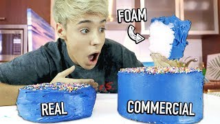 i tested food hacks used in TV COMMERCIALS 5 !!!