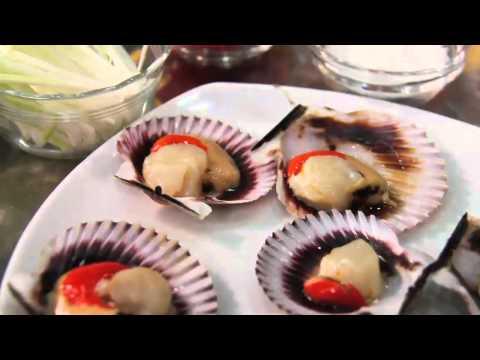 Parmesan Scallops + Marques de Casa Concha Chardonnay