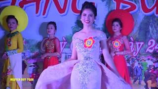 Người đẹp Hang Bua 2019  - Phần thi trang phục tự chọn