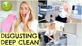 EXTREME DEEP CLEAN    DISGUSTING ALL DAY CLEAN    THINGS YOU SHOULD CLEAN BUT DON'T!