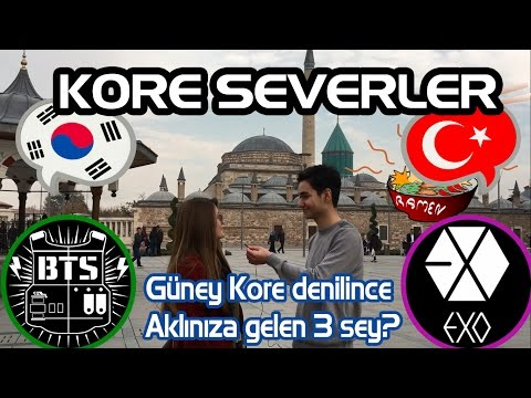 KORE SEVERLERE GÜNEY KOREYİ SORDUK