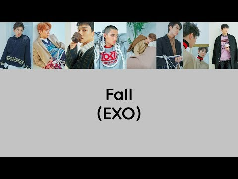 EXO - Fall Lyrics (Rom/Han/Eng)