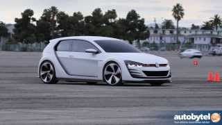 Driving Volkswagen Concepts: Tuned GTI, 500 HP Superbeetle and XL1 @ 2013 LA Auto Show