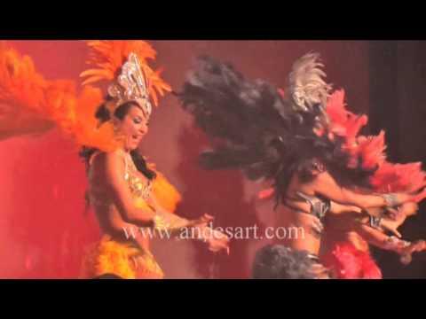 Bafo da onca, Samba Brazil, stage show