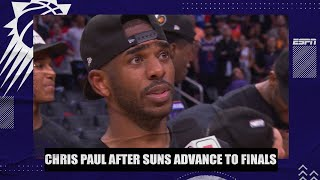Chris Paul on why his Phoenix Suns team is so special | NBA on ESPN