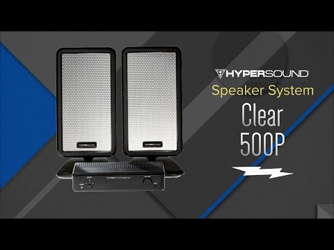 HyperSound Clear 500P Personal Surround Sound System HSS500P - Overview