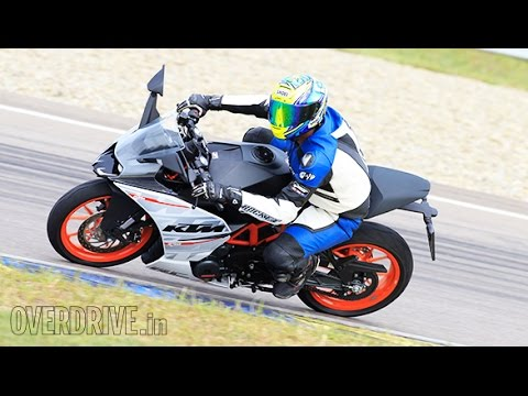 KTM RC 390 first ride