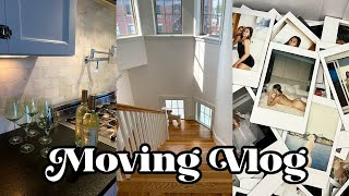 MOVING VLOG: packing up my whole apartment + moving day!