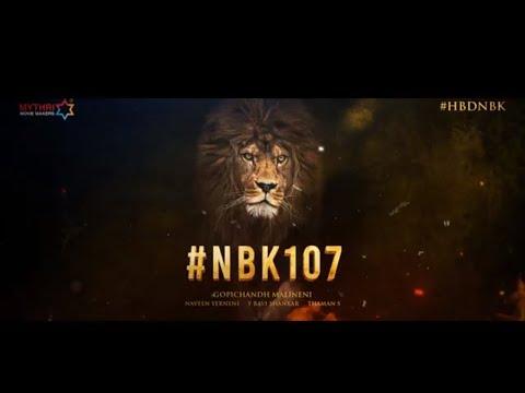 Birthday teaser: Gopichand Malineni to direct Balakrishna's NBK107