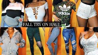 HUGE Fall Try-On Haul 2017! (Fashion Nova, Pretty Little Thing, Forever 21, Romwe)