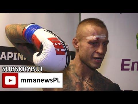 """Adrian Błeszyńki po wygranej z Kwiecińskim: """"To ja byłem stroną atakującą."""""""