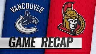 Pettersson's first hat trick leads Canucks to OT win