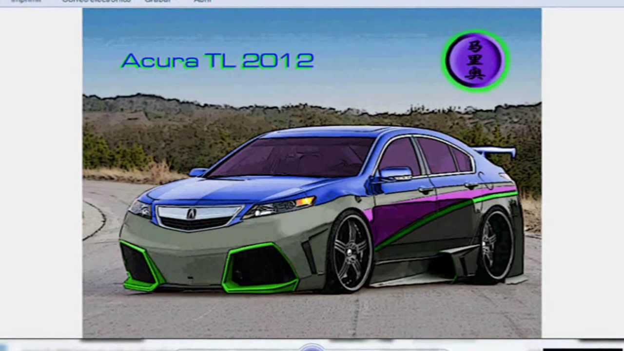 Tuning Virtual 2013 Acura TL 2012 - YouTube