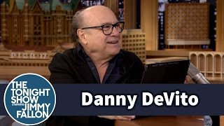 Jimmy Shocks Danny DeVito with a Vintage Still of Him from a '70s Western