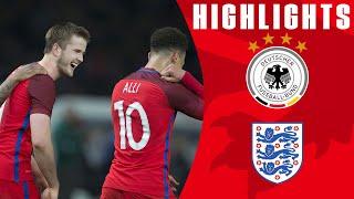 Germany 2-3 England | Goals & Highlights