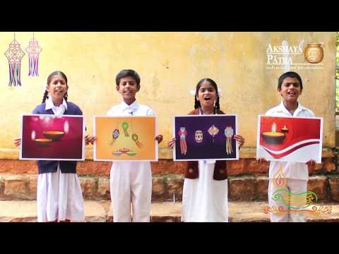 Diwali Wishes from Akshaya Patra – Let's Make a Difference