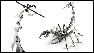 I built a Scorpion from Stainless Steel!!
