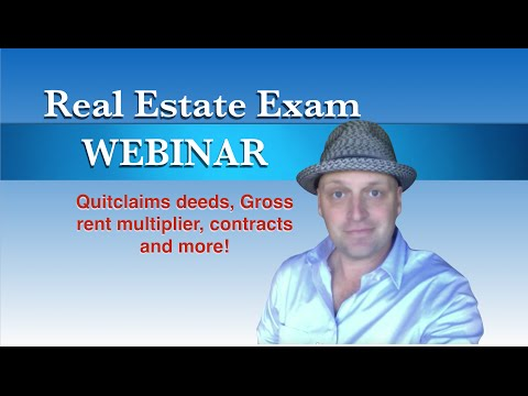 Real Estate Exam Crash Course - This one was fun!