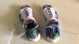 Pharrell Solar Hu NMD pick up and up close view + Meeting Connie after 5 years
