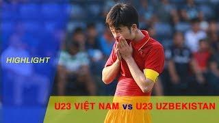 Highlight | U23 Việt Nam lỡ hẹn với trận chung kết M-150 Cup sau trận thua U23 Uzbekistan