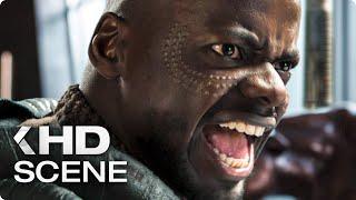 """BLACK PANTHER """"W'Kabi vs. Okoye"""" Deleted Scene (2018)"""
