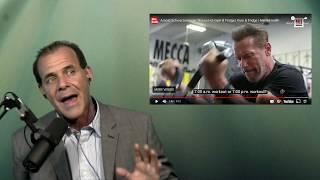 "Dr. Nick Delgado comments on video ""Arnold Schwarzenegger Shows His Gym & Fridge"""