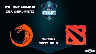 [DOTA 2 LIVE PH] TNC.Predator VS Genuine Gaming |Bo3| ESL Mumbai SEA Qualifiers