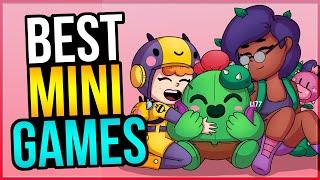SO FUN! 6 BEST MINI GAMES to Play in Brawl Stars!
