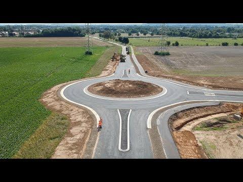 Kreisverkehr zwischen Pulheim und Sinnersdorf