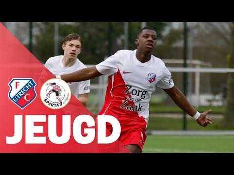 JEUGD | FC Utrecht O17 verslaat Sparta en blijft koploper!