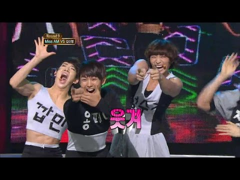 【TVPP】2AM - Bad Boy Good Boy, 투에이엠 - 배드 보이 굿 보이 @ Star Dance Battle