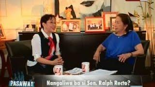 Bawal Ang Pasaway: Sen. Ralph, Umamin Minsan Na Nambabae, Ayon Kay Gov. Vilma Santos-Recto