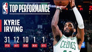 Kyrie Irving GOES OFF For a TRIPLE-DOUBLE Against Sacramento | March 14, 2019